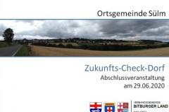 Abschlussveranstaltung Zukunftscheck Dorf