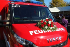 Einweihung der neuen Feuerwehrautos
