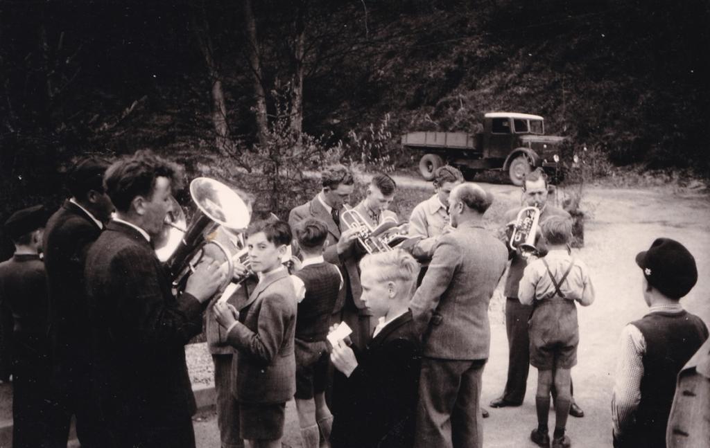 Einweihung der Kyllbrücke 1951